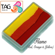 TAG Face Paint 1-Stroke Split Cake - Flame