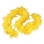 Yellow 1.8m 60 Gramme Feather Boas