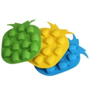 Beautiful Thermal Plastic Rubber Pineapple Shape Ice Cube Cake Mould