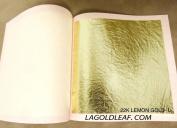 22k Genuine Gold Leaf