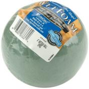 Floracraft Wet Foam Ball, 10cm , Green