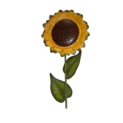 Craft Outlet Tin Sunflower Pick, 90cm , Yellow