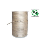 Round Leather Cord Silver 1mm 25meters