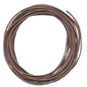 "GREEK LEATHER CORD DARK BROWN 2mm/.079"", 90m/300feet Long"