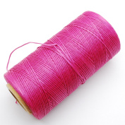 284yrd pink Leather Sewing Waxed Thread 150D 1mm Leather Hand Stitching 125g