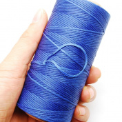 284yrd deep blue Leather Sewing Waxed Thread 150D 1mm Leather Hand Stitching 125g