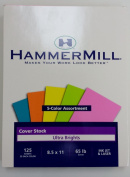 Hammermill Ultra Brights Cover Stock 5 Colour Assortment