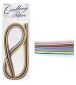 0.3cm Quilling Strips Multicolor 100 strips