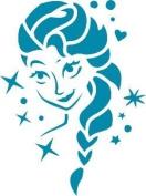 Elsa, Sven and Olaph Frozen Stencils