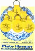 Flatirons Disc Adhesive Plate Hanger Set