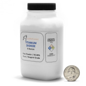Titanium Dioxide / Fine Powder / 6 Full Ounces / 99.99% Pure.