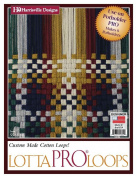 Harrisville Lotta Pro Loom Potholders Refill Loops Kit, Designer Colours