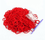 Rainbow Loom Rubber Bands 3000pcs with Crochet Hook and S_clips