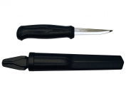 Morakniv Basic Wood Carving Knife with Carbon Steel Blade, 7.9cm