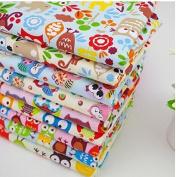 Cartoon 7 Fat Quarters Bundle Cotton Fabric for Quilting 50*50cm - CartoonSeries
