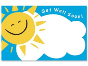 "50 pack ""Get Well Soon"" SunEnclosure Cards"