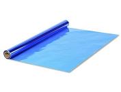 Oasis Supply, 100cm . x 30m Cello Wrap Blue Cellophane Wrap Roll Pkg/1