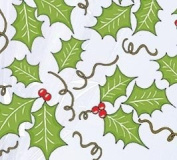 Holly Blooms (60cm w X 30ml) Cellophane Roll