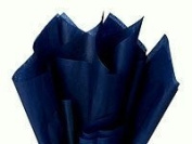 100 Ct Bulk Tissue Paper Dark Navy Blue 38cm X 50cm