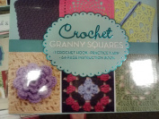 Granny Squares Crochet Boxed Kit