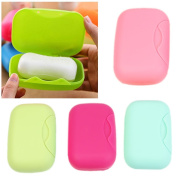 YSTD® New Bathroom Soap Dish Case Holder Container Box Travel Portable Outdoor Hiking
