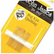 Big Eye Quilting Hand Needles-Size 11 12/Pkg