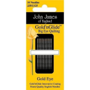Gold'n Glide Big Eye Quilting Needles -Size 11 10/Pkg