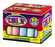Ja-Ru Sidewalk Chalk Pieces Jumbo