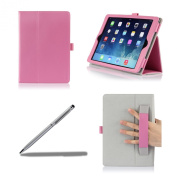 ProCase Apple iPad Air Case with bonus stylus pen - Flip Stand Leather Folio Cover for Apple iPad Air, iPad 5, iPad 5th generation, auto Sleep/Wake built-in Stand