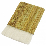 Uxcell Rectangle Shaped Faux Wool Paint Brush, 8.9cm Wide Handle