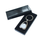 12 pcs 7.8x3.5cm Heart Key Rings Heat Transfer sublimation Blank