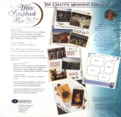 The Creative Memories Collection 12 x 12 12x12 White Scrapbook Pages 15-sheet Refill RCM-12S