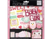 mambiKIT 20cm by 20cm Scrapbook Page Kit, Baby Girl