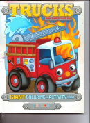 Trucks Giant Colouring & Activity Book