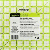 Dritz Omnigrip Non-Slip Quilter's Ruler, 19cm by 19cm