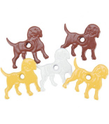 Eyelet Outlet Quicklets No-Setter-Needed Eyelets Shapes 20/Package, Dog