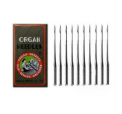 Organ Home Sewing Machine Needles Size#9, 11, 14, 16, 18 - 50 Total