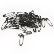 19mm Black Iron Safety Pins Findings Patchwork Quilting Badge DIY Sewing,500 Pics