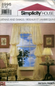 Simplicity Curtains and Swags Sewing Pattern #8996
