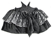 1894 Short Silk and Lace Cape Pattern