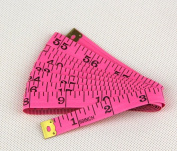 "150cm 60"" Soft Plastic Ruler Tailor Sewing Cloth Measure Tape"