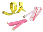 Pack of 3 - Sewing soft vinyl MEASURING TAPE Seamstress Tailor Ruler dieting 150cm L