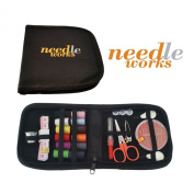 Mini Sewing Kit for Travel, Best for Home, Professional and Emergency Use. This Premium Portable Starter Sewing Kits Is Suitable for Any Child or Kids, Girls, Boys, Teens or Adults. Perfect Sewing Kit for Basket, Box, Bag and Supplies. Comes with Large ..