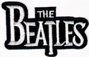 The Beatles Band Embroidered Iron on Patch Iron-on Symbol Logo Embroidery