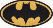Batman Logo Embroidered Iron on Patch