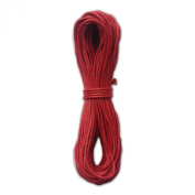 LWR Crafts 2mm Waxed Cotton Cord 14m Per Pack (Pack of 2)
