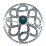 Sterling Silver Celtic Brooch