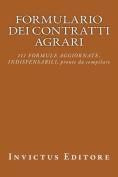 Formulario Dei Contratti Agrari [ITA]