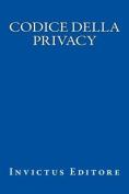 Codice Della Privacy [ITA]