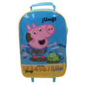 George from Peppa Pig Muddy Puddle Wheeled Travel Bag